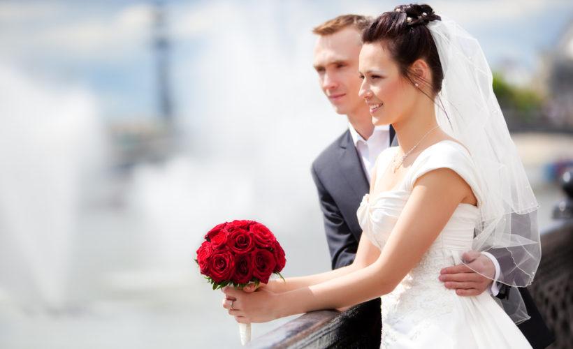 æresport til brylluppet