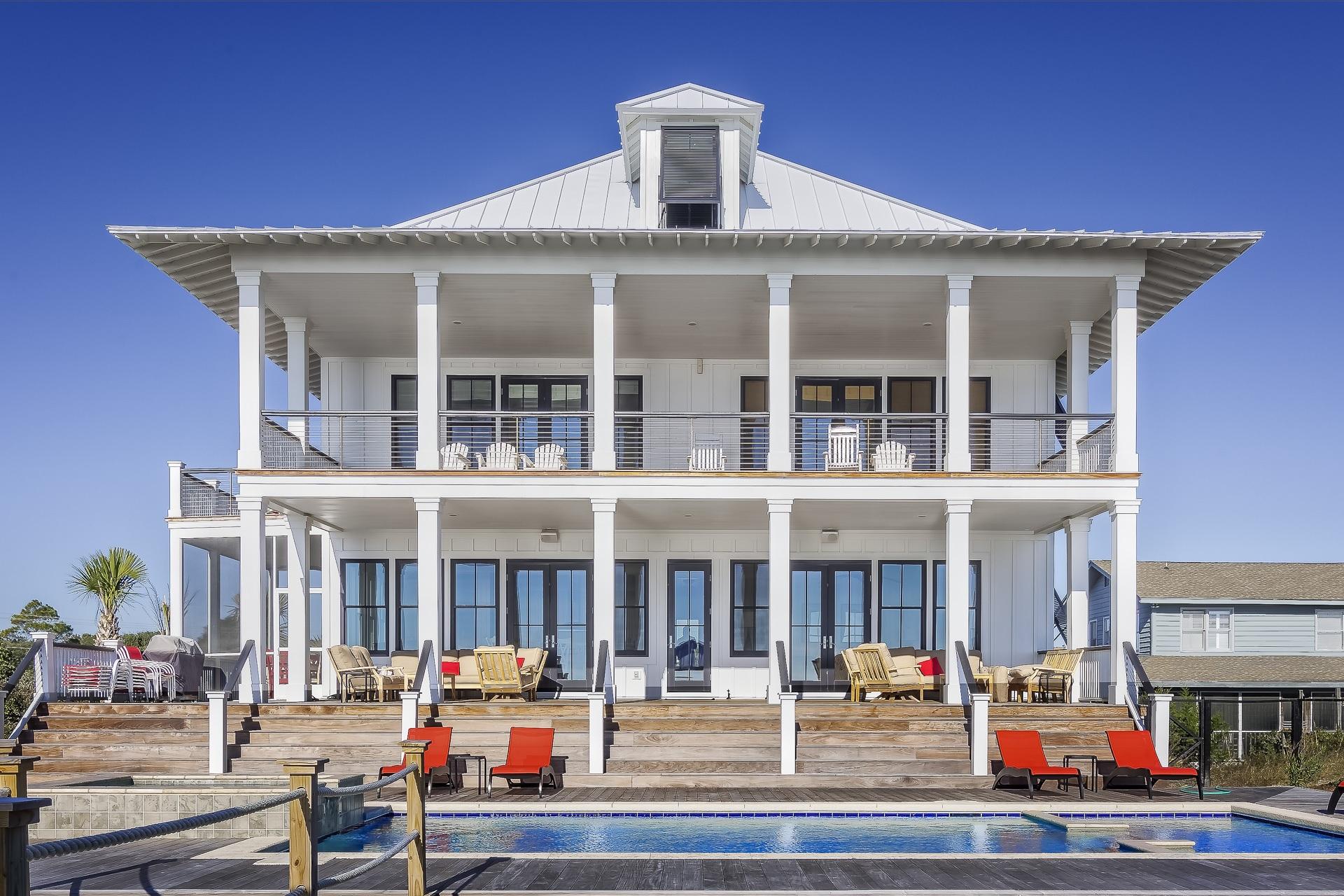 kæmpe villa